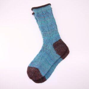 Pletené ponožky. Zimní ponožky dámské.